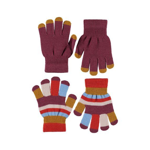 Перчатки Molo Kei Maroon (2 пары), арт. 7W20S204.8227, цвет Розовый