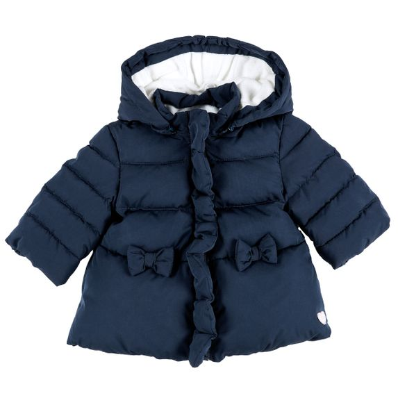 Куртка пуховая Chicco My bunny, арт. 090.87304, цвет Синий