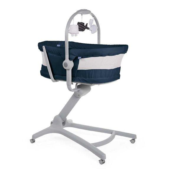 Кроватка-стульчик Chicco Baby Hug Air 4 в 1, арт. 79193, цвет Синий