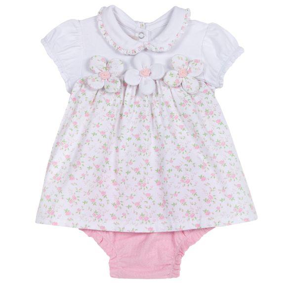 Комплект Chicco Abigail: платье и трусики , арт. 090.76409.016, цвет Розовый