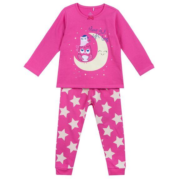 Пижама Chicco Long night, арт. 090.31332.018, цвет Малиновый