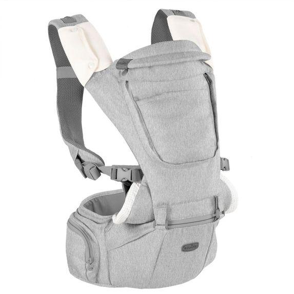 Сумка нагрудная Chicco Hip Seat, арт. 79147, цвет Серый