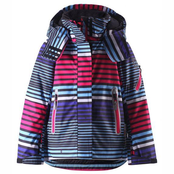 Термокуртка горнолыжная Reima Roxana Colored stripes, арт. 521614B-4657, цвет Синий