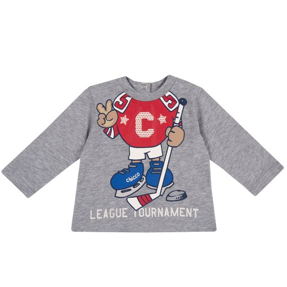 Реглан Chicco Sport league, арт. 090.68832.091, цвет Серый