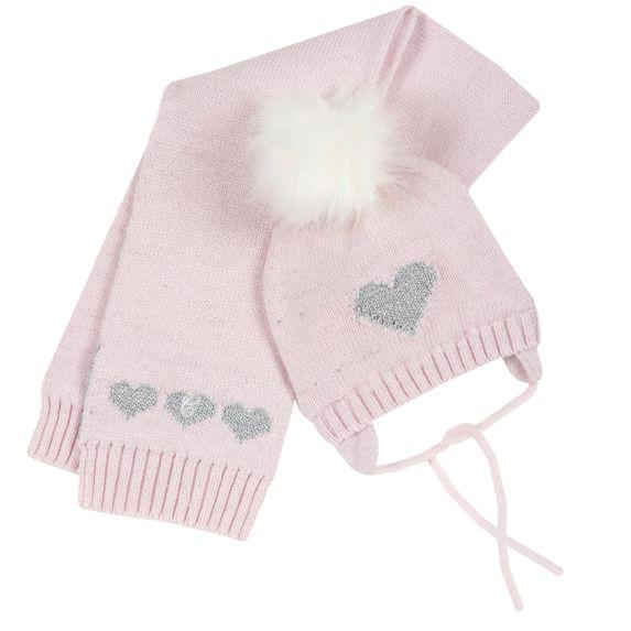 Комплект Chicco Little fairy: шапка и шарф , арт. 090.04224.010, цвет Розовый