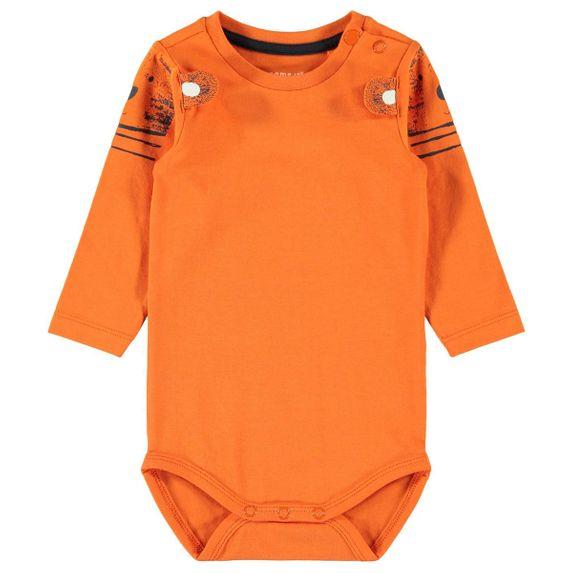Боди Name it Mandarin, арт. 201.13173943.MORA, цвет Оранжевый