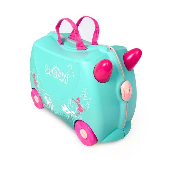 "Детский чемодан Trunki ""Flora Fairy"", арт. 0324-GB01-UKV, цвет Бирюзовый"
