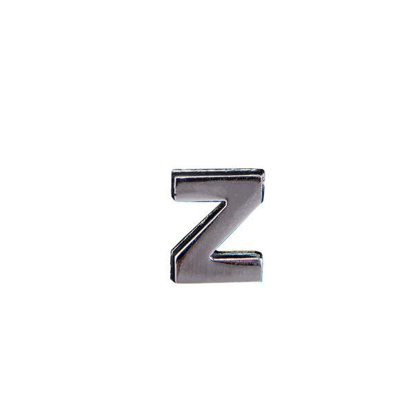 "Эмодзи Tinto ""Буква Z"", арт. GMLT00936, цвет Серебряный"