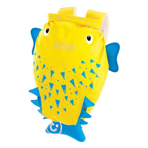 "Детский рюкзак Trunki ""Blow Fish"", арт. 0111-GB01-NP, цвет Желтый"