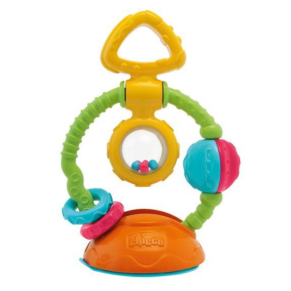 Игрушка-погремушка на присоске Chicco Touch & Spin, арт. 69029.00