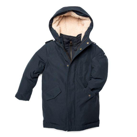 Куртка пуховая Appaman Aaron, арт. 193.U5HDC.dn, цвет Синий