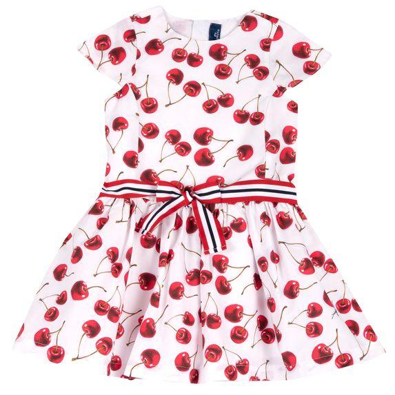 Платье Chicco Sweet cherry, арт. 090.03664.037, цвет Красный