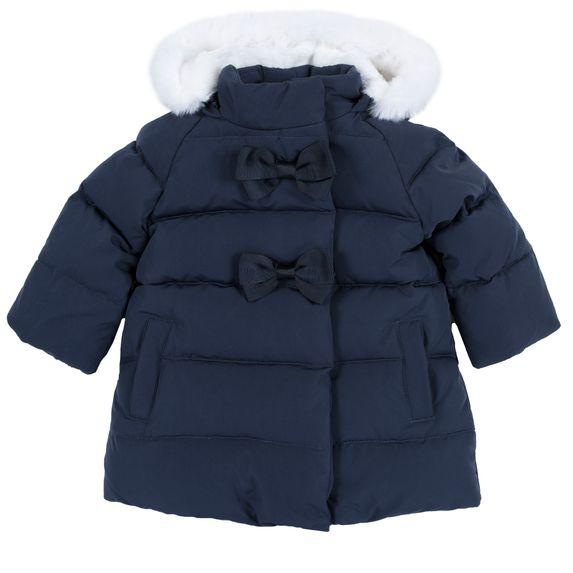 Куртка пуховая Chicco Marisa, арт. 090.87428.088, цвет Синий