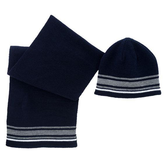 Комплект Chicco Arne: шапка и шарф, арт. 090.04764.088, цвет Синий
