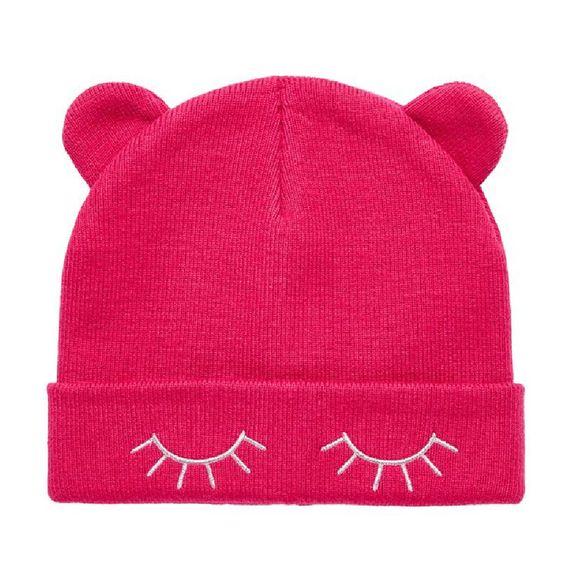 Шапка Name it Pink cat, арт. 193.13167837.CERI, цвет Красный