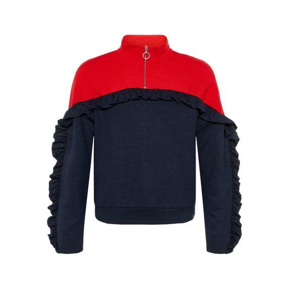 Джемпер Name it Red & Blue, арт. 13162079.SCAP, цвет Красный с синим