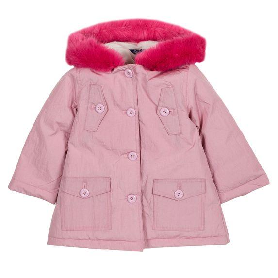 Куртка пуховая Chicco Polly, арт. 090.87438.011, цвет Розовый