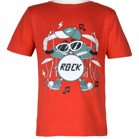 Футболка Name it Rock, арт. 203.13180304.VPOP, цвет Оранжевый