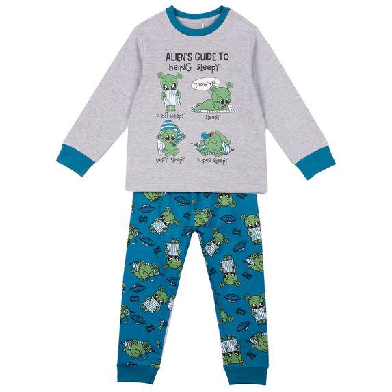 Пижама Chicco Being sleepy, арт. 090.31178.095, цвет Голубой
