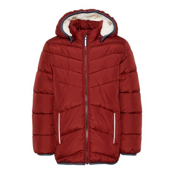 Куртка Name it Vince (красная), арт. 193.13167535.BRED, цвет Бордовый