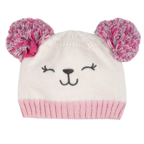 Шапка Chicco Pink bear, арт. 090.04723.018, цвет Розовый