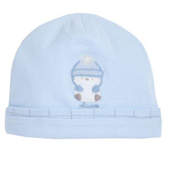 Шапка Chicco Happy penguin, арт. 090.04516.021, цвет Голубой