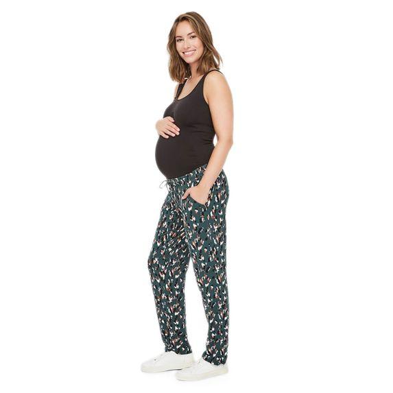 Брюки для беременных Mamalicious Palette, арт. 201.20010143.BGAR, цвет Зеленый