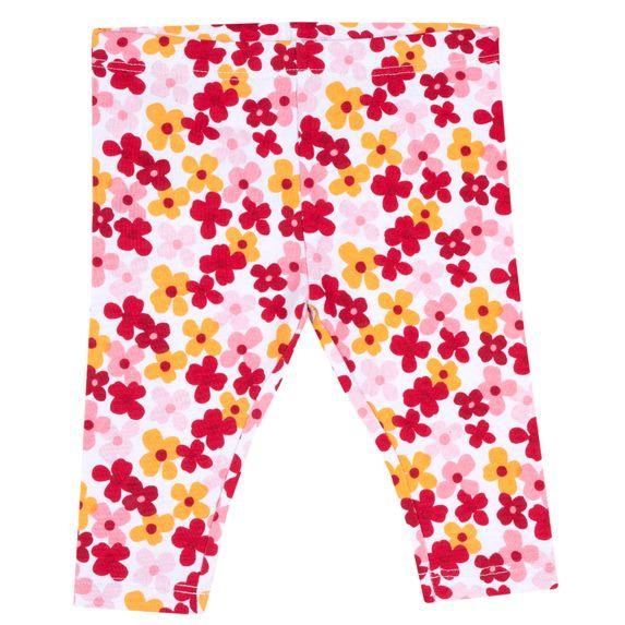Леггинсы Chicco Fantastic flowers, арт. 090.25879.076, цвет Красный