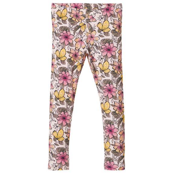 Леггинсы Name it Spring flowers, арт. 201.13176357.POTP, цвет Розовый