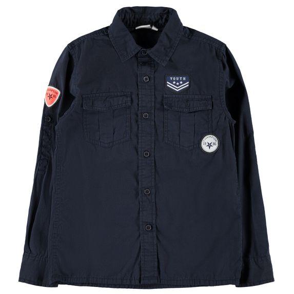 Рубашка Name it Urban, арт. 203.13175074.DSAP, цвет Синий