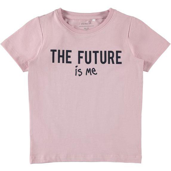 Футболка Name it Liva (розовая), арт. 201.13173202.PNEC, цвет Розовый