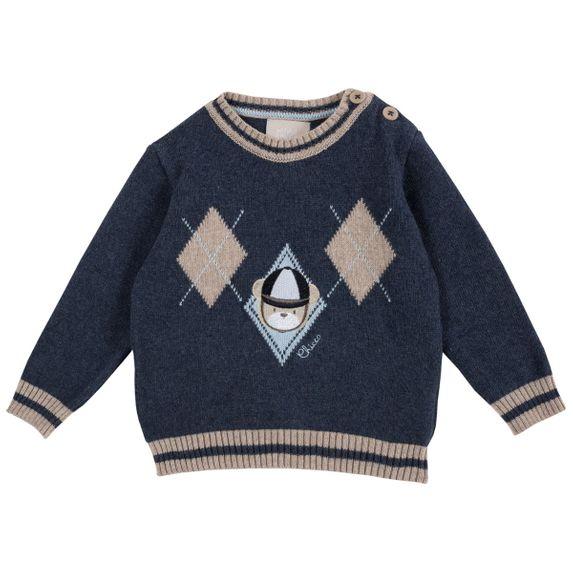 Пуловер Chicco Polo club, арт. 090.69292, цвет Синий
