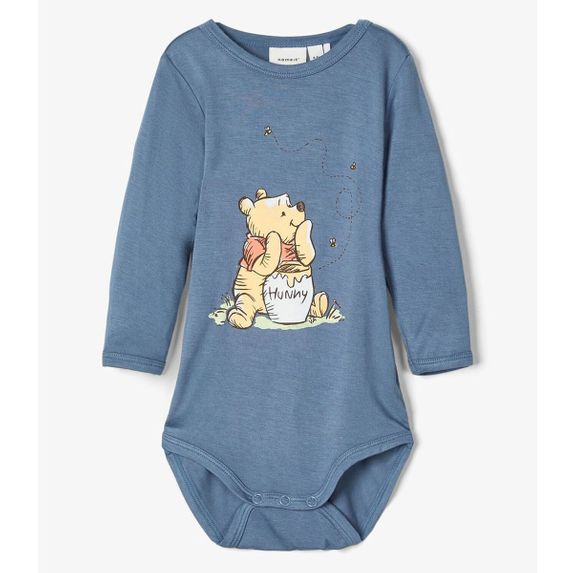 Боди Name it Winnie the Pooh, арт. 201.13176568.CBLU, цвет Синий