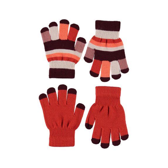 Перчатки Molo Kei Rising Sun (2 пары), арт. 7W20S204.8201, цвет Оранжевый