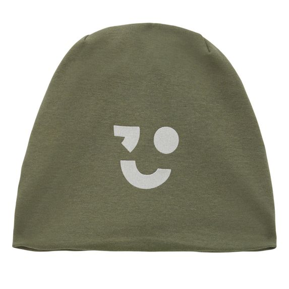 Шапка Name it Smile olive, арт. 203.13179600.THYM, цвет Оливковый