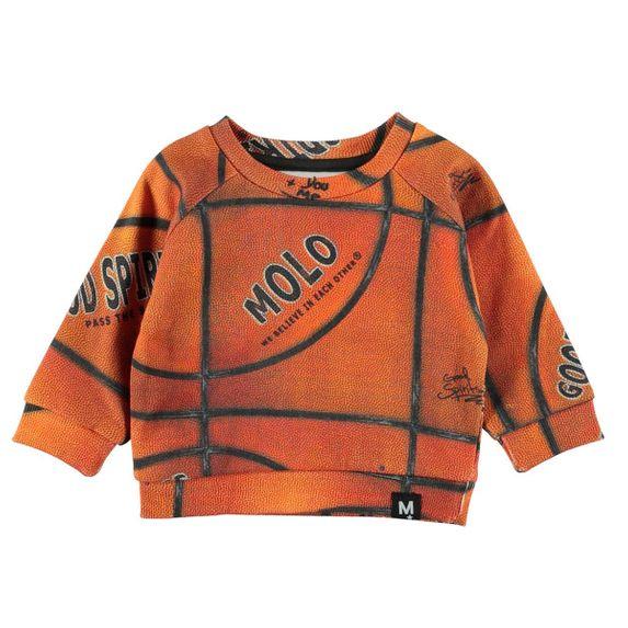 Джемпер Molo Dag Basket Structure Small, арт. 3W19J203.6004, цвет Оранжевый