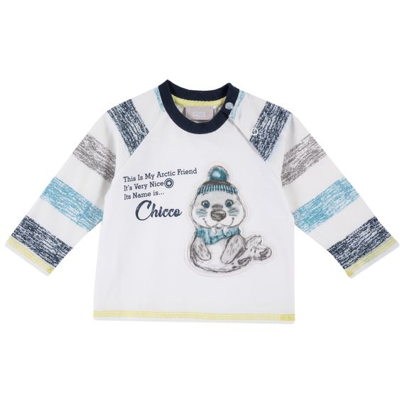 Реглан Chicco Arctic friend, арт. 090.54491.030, цвет Белый