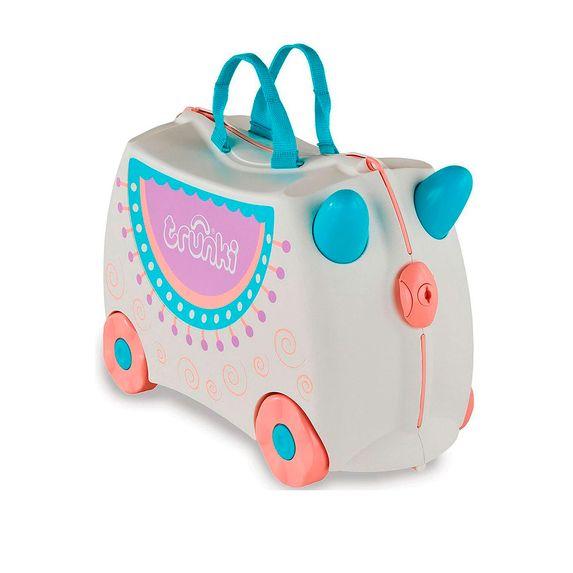 "Детский чемодан Trunki ""Lola Llama"", арт. 0356-GB01-UKV, цвет Серый"
