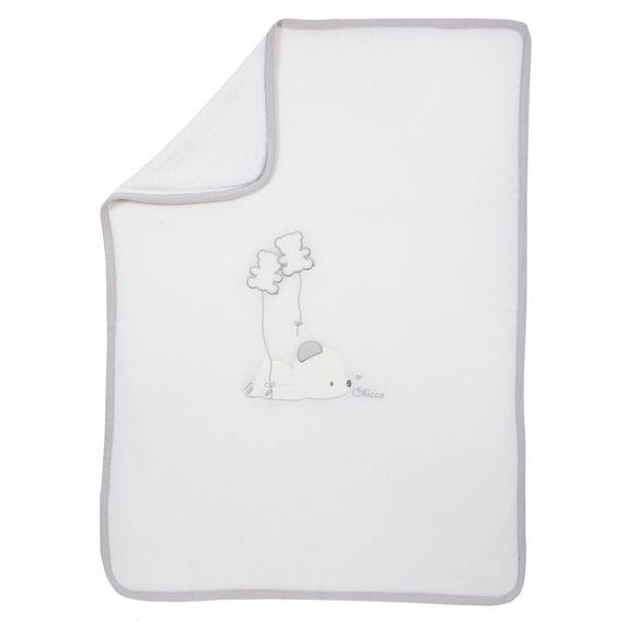 Плед Chicco Mister Bear, арт. 090.05048.030, цвет Белый
