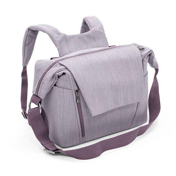 Сумка-рюкзак для родителей Stokke, арт. 4571, цвет Brushed Lilac