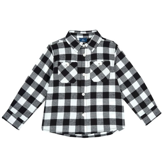 Рубашка Chicco Raimond, арт. 090.54356.039, цвет Черно-белый