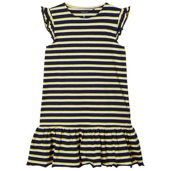 Платье Name it Great day, арт. 201.13175004.DSAP, цвет Желтый с синим