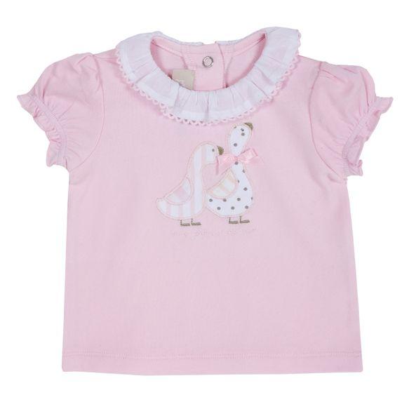 Футболка Chicco Happy flower pink, арт. 090.06622.011, цвет Розовый