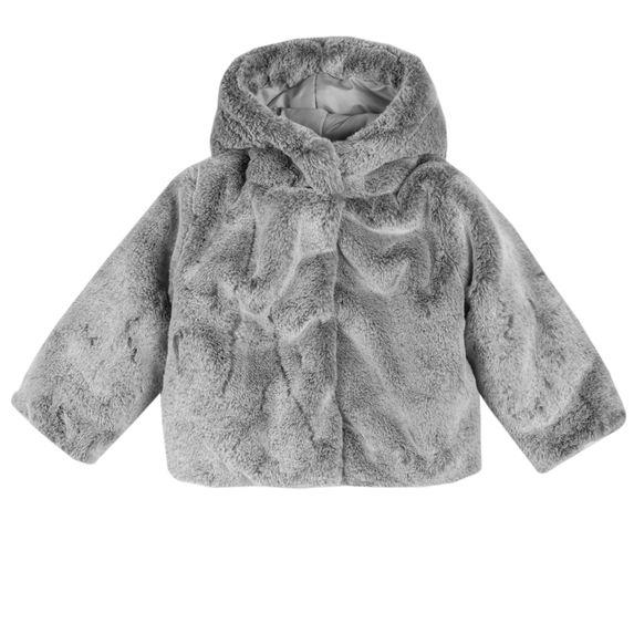 Пальто Chicco Lucie, арт. 090.87556.095, цвет Серый