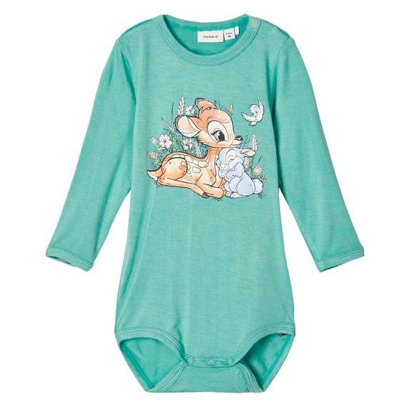 Боди Name it Bambi (зеленый), арт. 201.13176574.FELD, цвет Бирюзовый