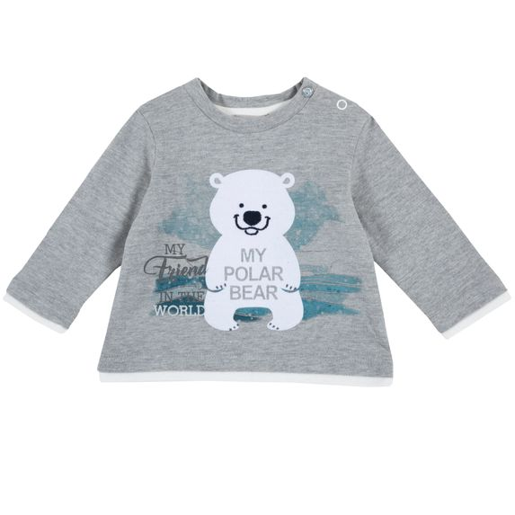 Реглан Chicco My polar bear, арт. 090.54492.095, цвет Серый