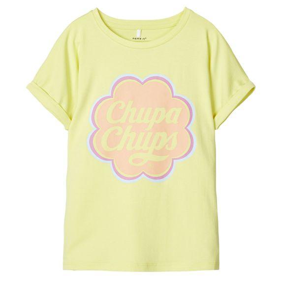 Футболка Name it Chupa Chups Lime, арт. 201.13180162.LIME, цвет Лайм