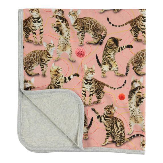 Плед Molo Neala Wannabe Leopard, арт. 7W19W101.4875, цвет Розовый