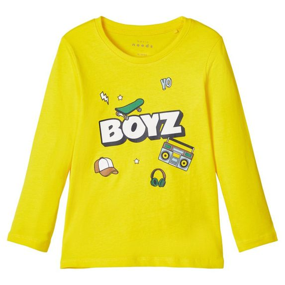 Реглан Name it Boyz, арт. 203.13171481.EYEL, цвет Желтый