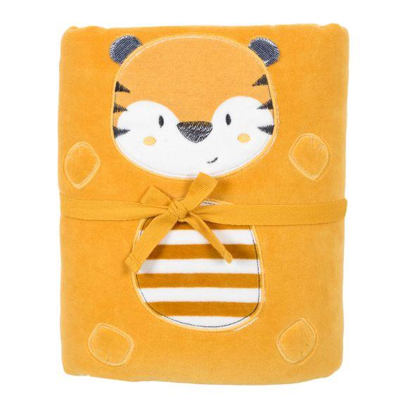 Плед велюровый  Chicco Jungle, арт. 090.05057.042, цвет Желтый